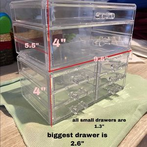 Make up drawers